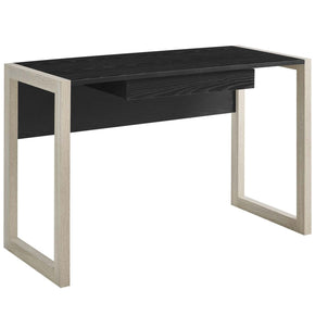 Become Writing Desk Natural Black Office