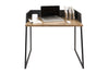 Volga Desk Walnut / Pure Black