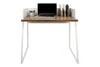 Volga Desk Walnut / Pure White