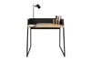 Volga Desk Oak / Pure Black
