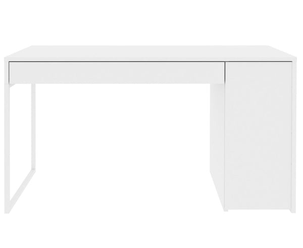 Prado Home Office Desk Pure White / Lacquer