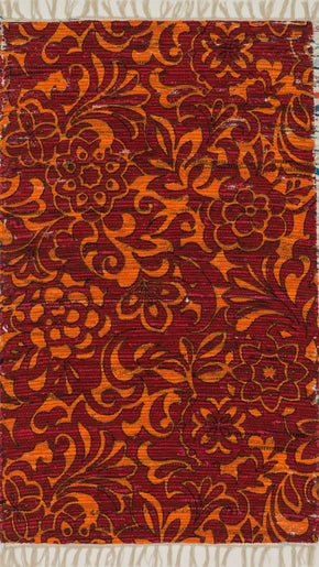 Loloi Aria Red / Orange Area Rug