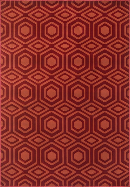 Loloi Goodwin Red / Rust Area Rug