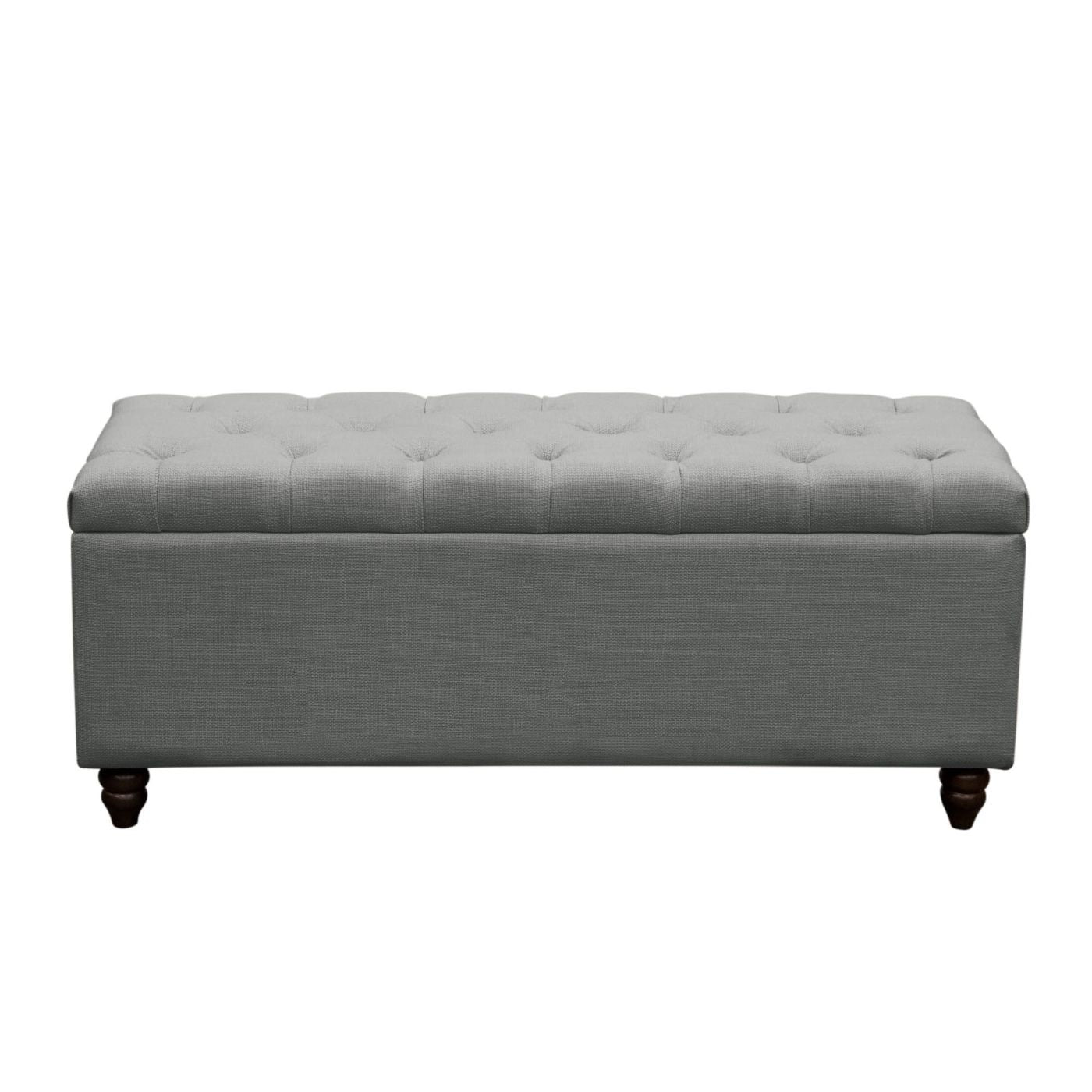 Remarkable Buy Diamond Sofa Parkavetrgr Park Ave Tufted Lift Top Storage Trunk Grey Linen At Contemporary Furniture Warehouse Squirreltailoven Fun Painted Chair Ideas Images Squirreltailovenorg