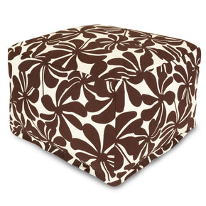 Chocolate Plantation Large Ottoman