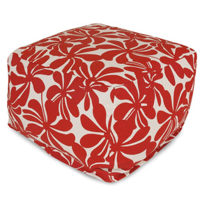 Red Plantation Large Ottoman