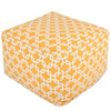 Yellow Links Large Ottoman