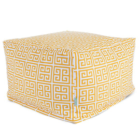 Citrus Towers Large Ottoman