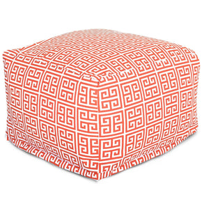 Orange Towers Large Ottoman