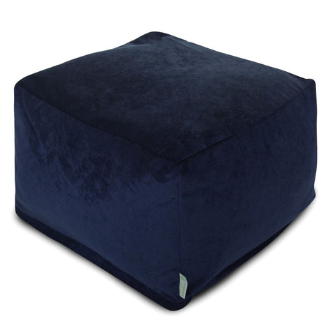 Ottomans - Majestic Home 85907260231 Villa Navy Large Ottoman | 859072602310 | Only $108.90. Buy today at http://www.contemporaryfurniturewarehouse.com