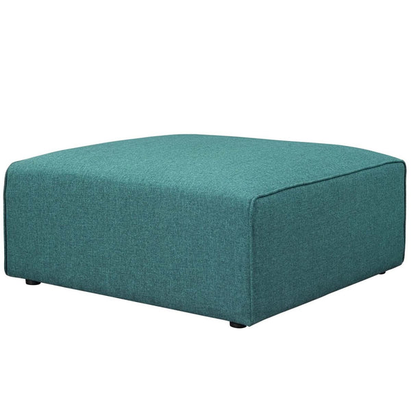 Ottomans - Modway EEI-2726-TEA Mingle Fabric Ottoman | 889654106470 | Only $321.25. Buy today at http://www.contemporaryfurniturewarehouse.com