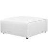 Ottomans - Modway EEI-2726-WHI Mingle Fabric Ottoman | 889654106487 | Only $325.75. Buy today at http://www.contemporaryfurniturewarehouse.com