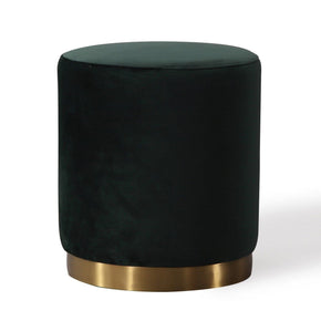 Tov Furniture Opal Green Velvet Ottoman TOV-OC6111 | 806810351956| $174.80. Ottomans - . Buy today at http://www.contemporaryfurniturewarehouse.com