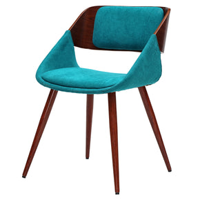 New Pacific Direct 1160003-291W Cyprus Fabric Chair Santorini Teal Green