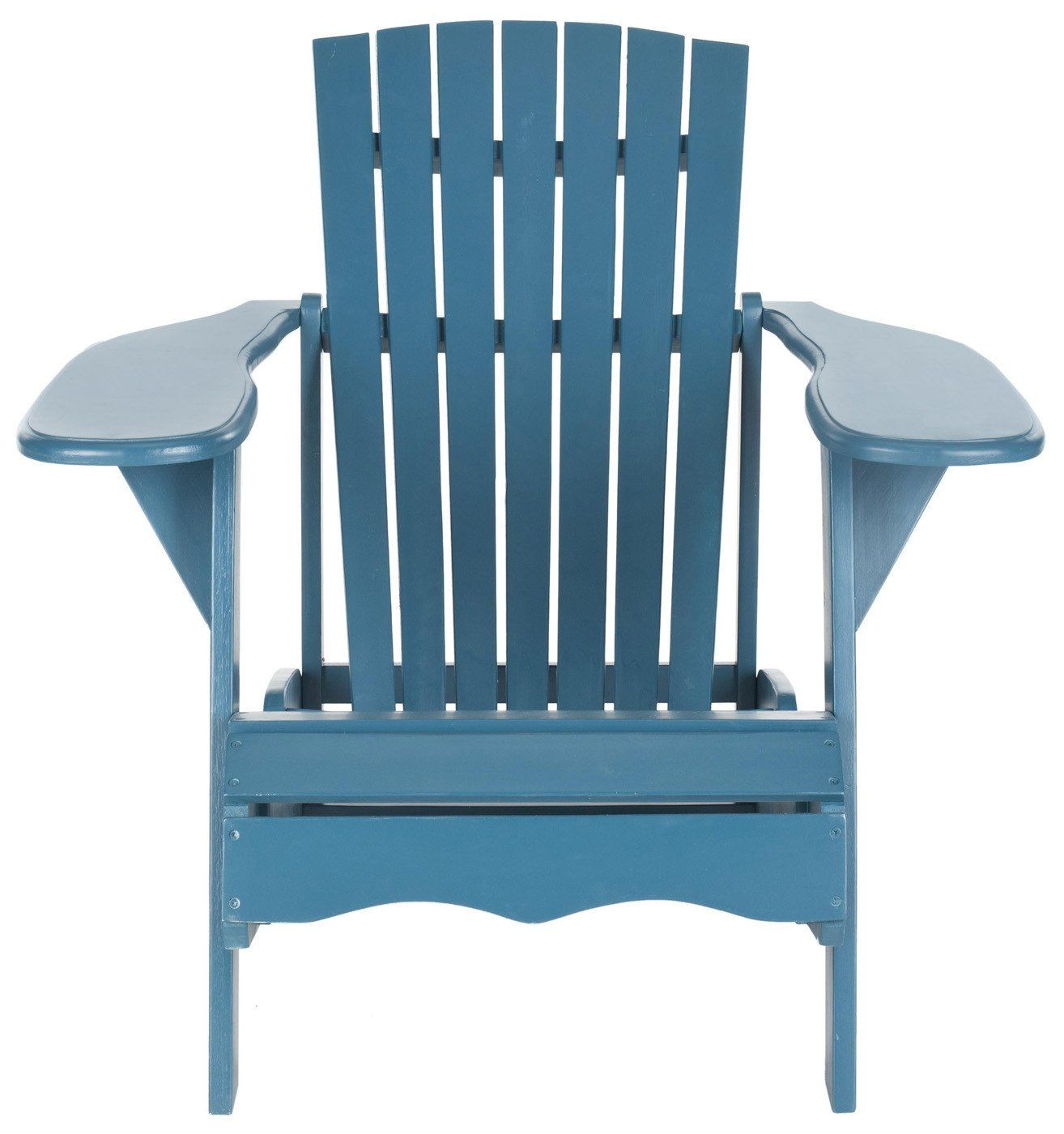 Mopani Adirondack Chair Teal Outdoor Armchair ...