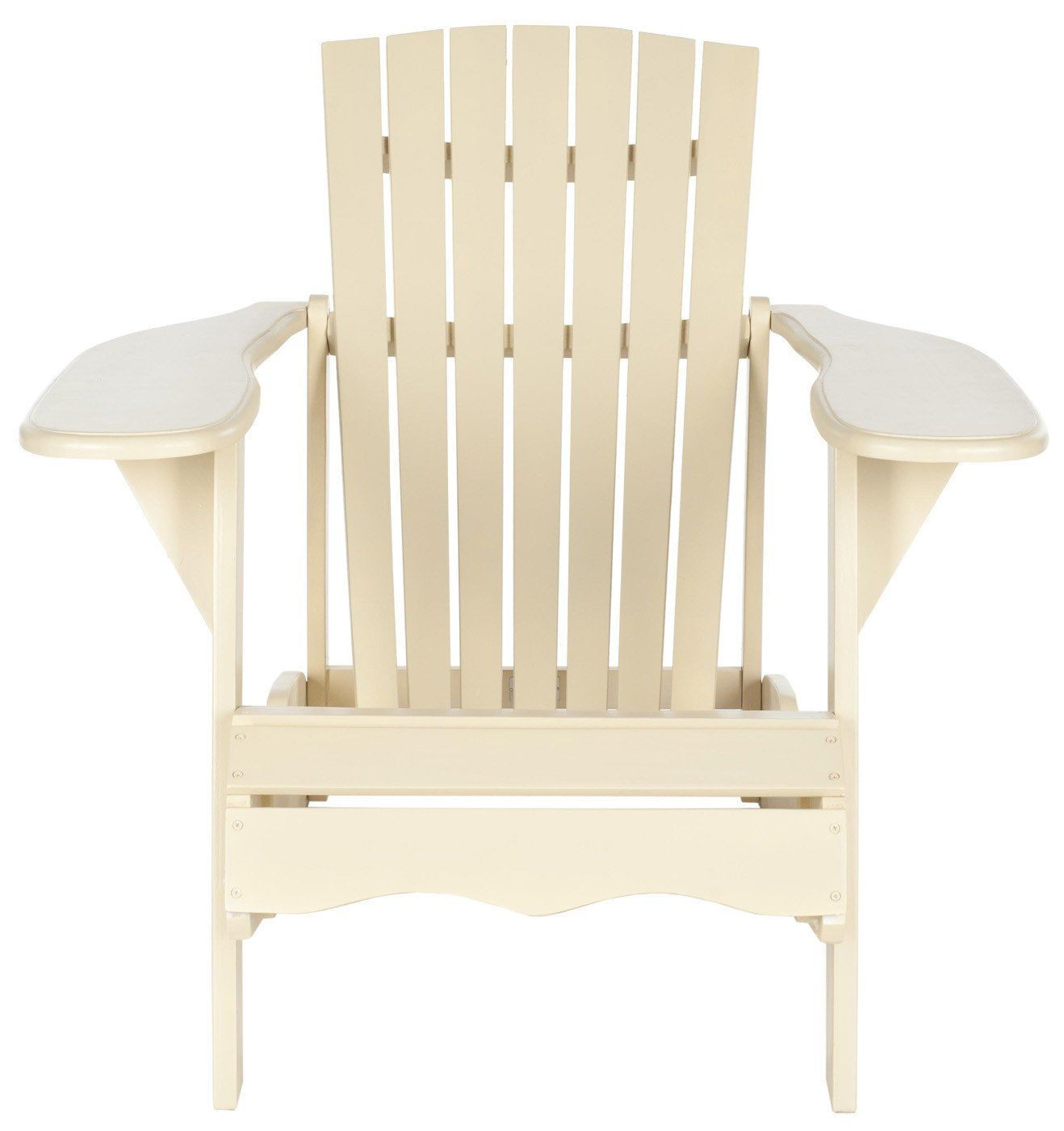 Mopani Adirondack Chair Off White Outdoor Armchair ...