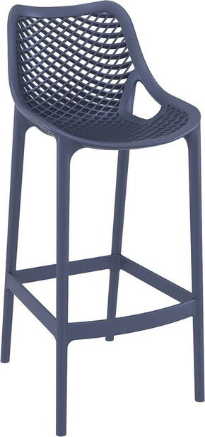 Air Bar Stool Dark Gray (Set Of 2) Outdoor Chair