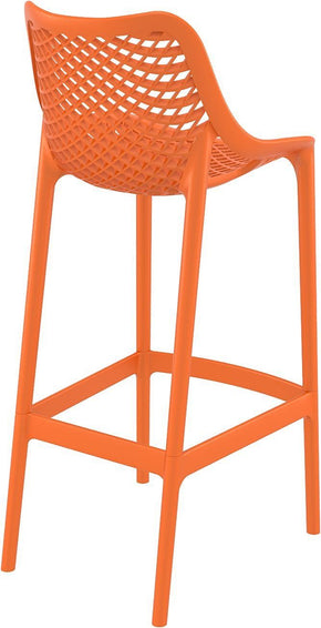 Air Bar Stool Orange (Set Of 2) Outdoor Chair
