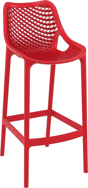 Air Bar Stool Red (Set Of 2) Outdoor Chair