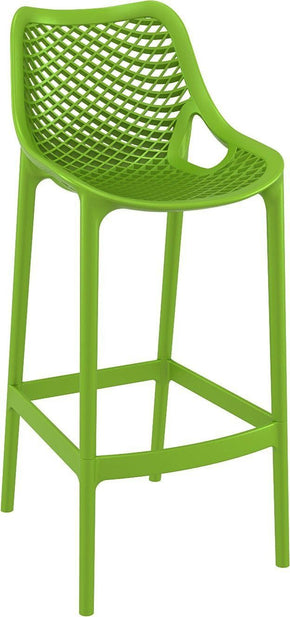 Air Bar Stool Tropical Green (Set Of 2) Outdoor Chair