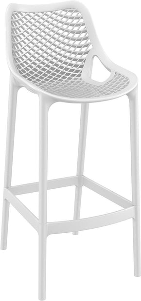 Air Bar Stool White (Set Of 2) Outdoor Chair