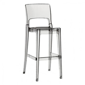Igloo Bar Stool In Clear - Set Of 2 Outdoor Chair