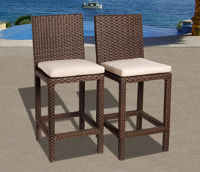 Monza Bar Stools Set 2 Pcs Outdoor Chair