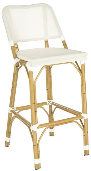 Deltana Barstool Beige (Indoor/outdoor) Outdoor Bar Chair