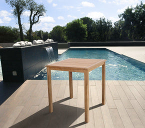 Amazonia Teak Eden Bar Table Outdoor