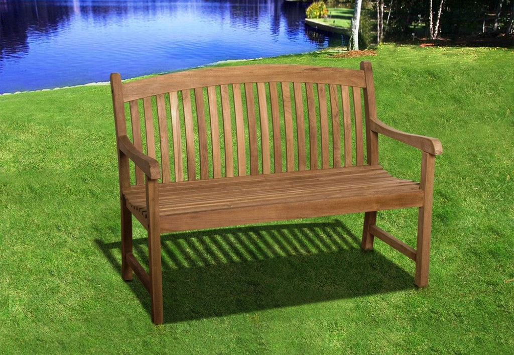 Amazonia Teak Newcastle 4' Bench Outdoor