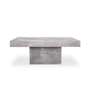 Maxima Concrete Outdoor / Indoor Coffee Table
