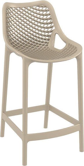 Air Counter Stool Dove Gray (Set Of 2) Outdoor Chair