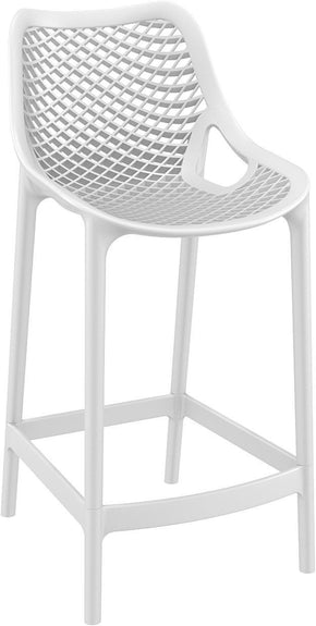 Air Counter Stool White (Set Of 2) Outdoor Chair