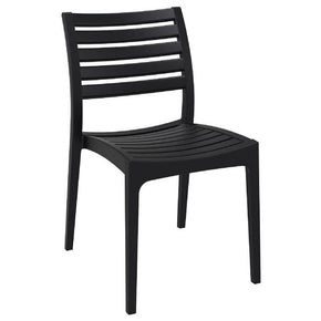 Outdoor Dining Chairs - Compamia ISP009-BLA Ares Outdoor Dining Chair Black (Set of 2) | 8697443556434 | Only $197.99. Buy today at http://www.contemporaryfurniturewarehouse.com
