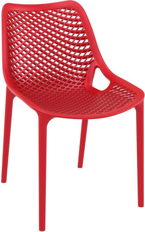 Air Outdoor Dining Chair Red (Set Of 2)