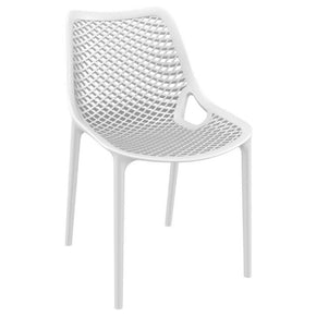 Air Outdoor Dining Chair White (Set Of 2)