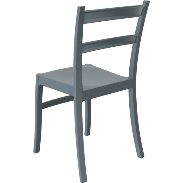 ... Tiffany Dining Chair Dark Gray (Set Of 2) Outdoor ...