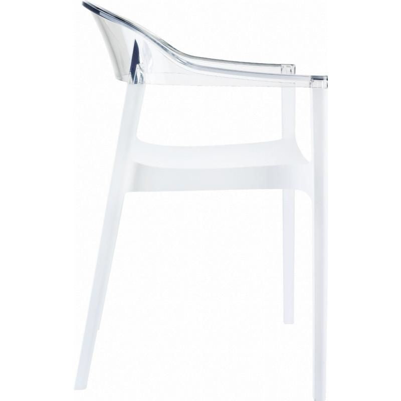Buy Compamia Isp059 Whi Tcl Carmen Modern Dining Chair