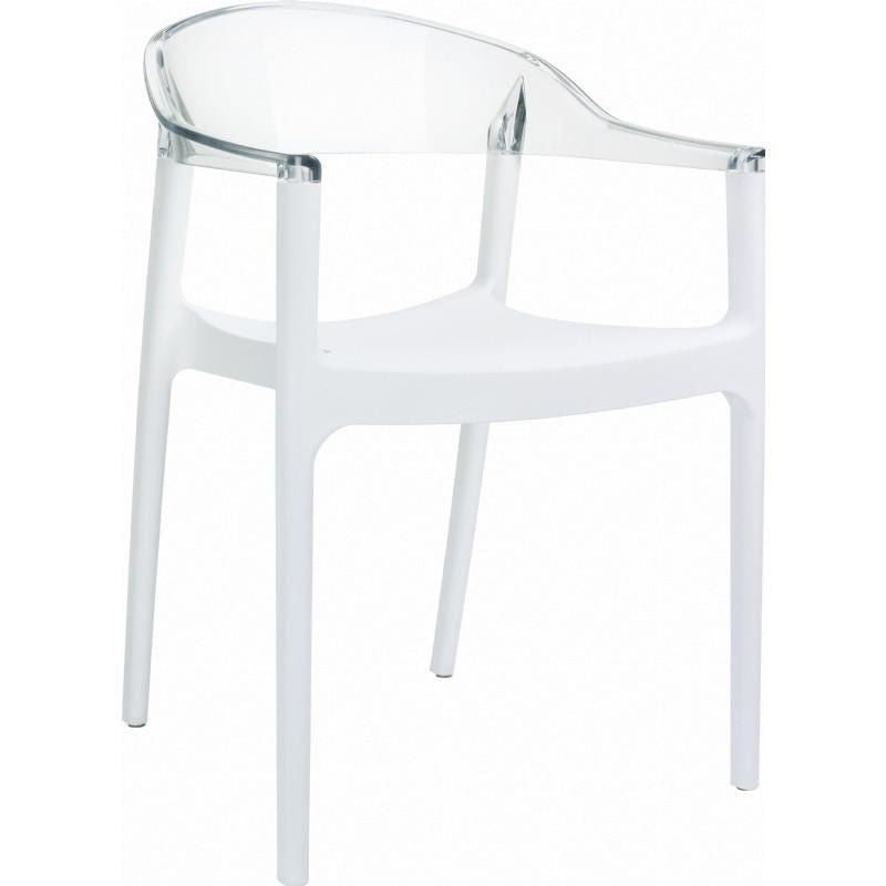 Buy Compamia ISP059-WHI-TCL Carmen Modern Dining Chair ...