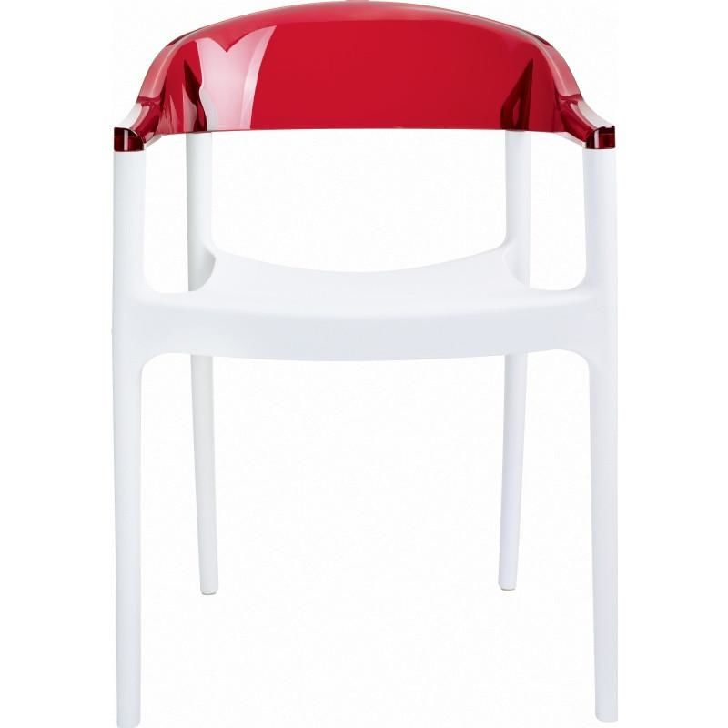 Buy Compamia Isp059 Whi Tred Carmen Modern Dining Chair