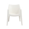 Coccolona Stacking Arm Chair in Linen - Set of 4