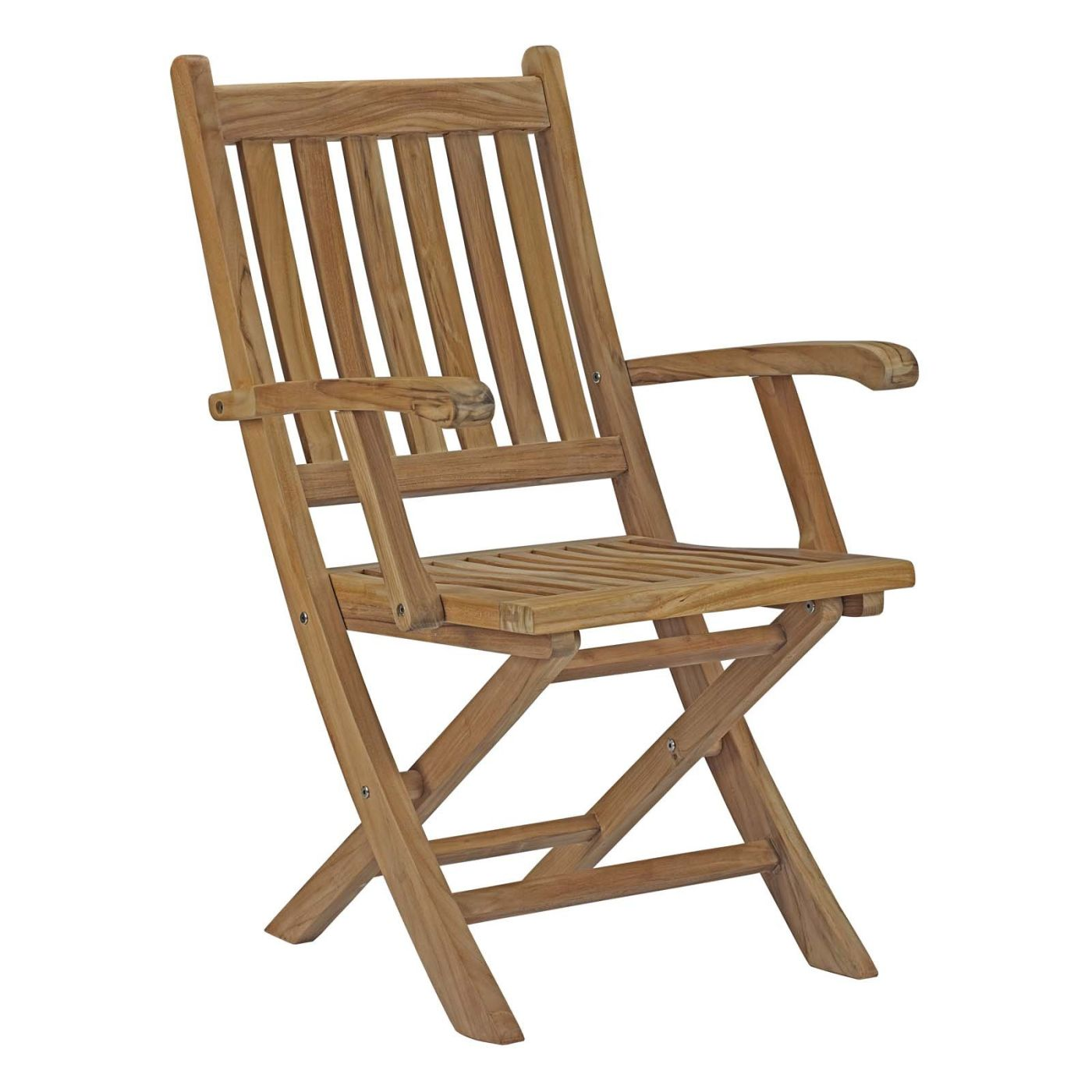 Modway Marina Outdoor Patio Teak Folding Chair EEI 2703 NAT ly