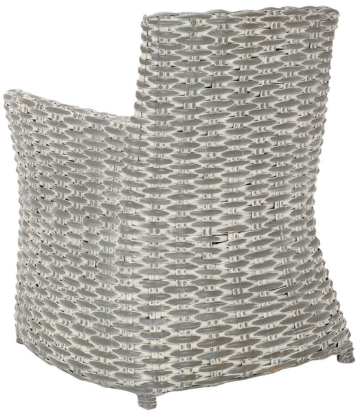 Cabana Arm Chair Grey White Wash / Beige Outdoor Dining