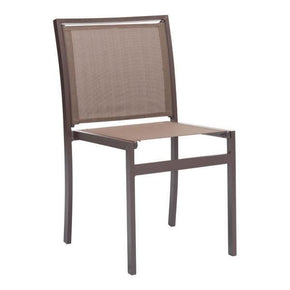 Mayakoba Dining Chair Brown (Set Of 2) Outdoor