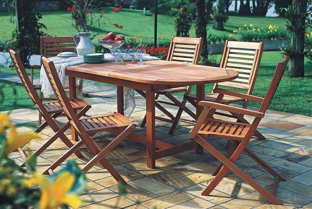 Milano Extendable 7 Piece Set Outdoor Dining