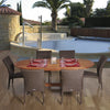 Le Mans 7-Pc Dining Set Outdoor