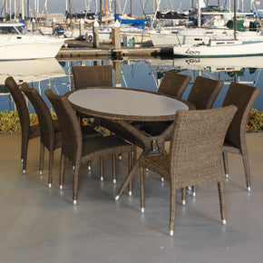 Bari 9-Pc Dining Set Outdoor