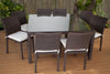 Outdoor Dining Sets - International Home Miami PLI GRANDLIBER_SQ Grand Liberty Square 9-pc Dining Set | Only $1399.00. Buy today at http://www.contemporaryfurniturewarehouse.com