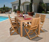 Amazonia Teak Budapest 7-Pc Dining Set Outdoor