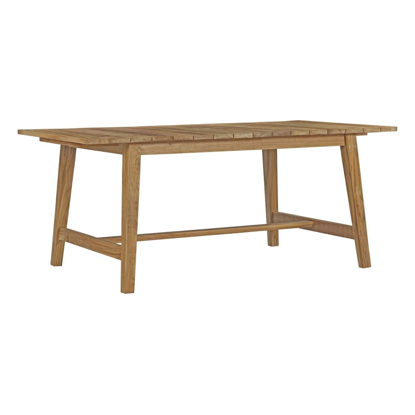 Modway Dorset Outdoor Patio Teak Dining Table EEINAT Only - Outdoor dining table only